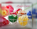 Easter greeting. Wishing you happy Easter